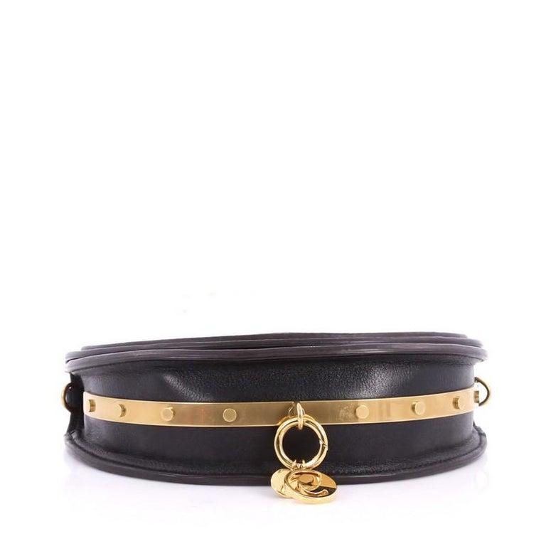 Women's or Men's Chloe Nile Mini Leather Crossbody Bag  For Sale