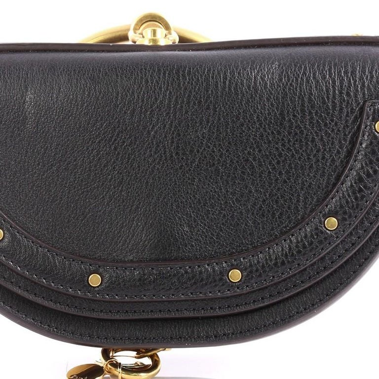 Chloe Nile Mini Leather Crossbody Bag  For Sale 2