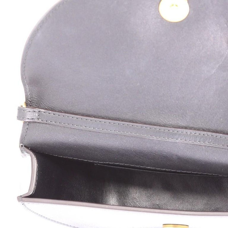 Chloe Nile Mini Leather Crossbody Bag  For Sale 3