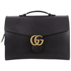 Gucci GG Marmont Briefcase Leather Large