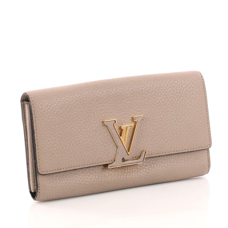 da881fbc11a9 Louis Vuitton Capucines Wallet Leather In Good Condition For Sale In New  York
