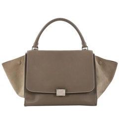 Celine Trapeze Handbag Leather Medium