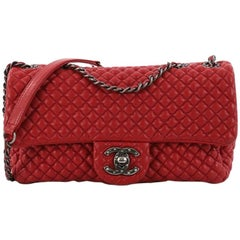 Chanel CC Flap Bag Micro Quilted Calfskin Medium