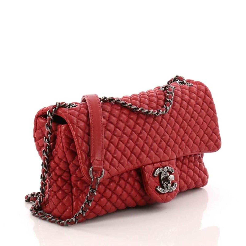 5db56b215c4c Chanel CC Flap Bag Micro Quilted Calfskin Medium at 1stdibs