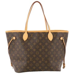 Louis Vuitton Neverfull Tote Monogram Canvas MM Tote