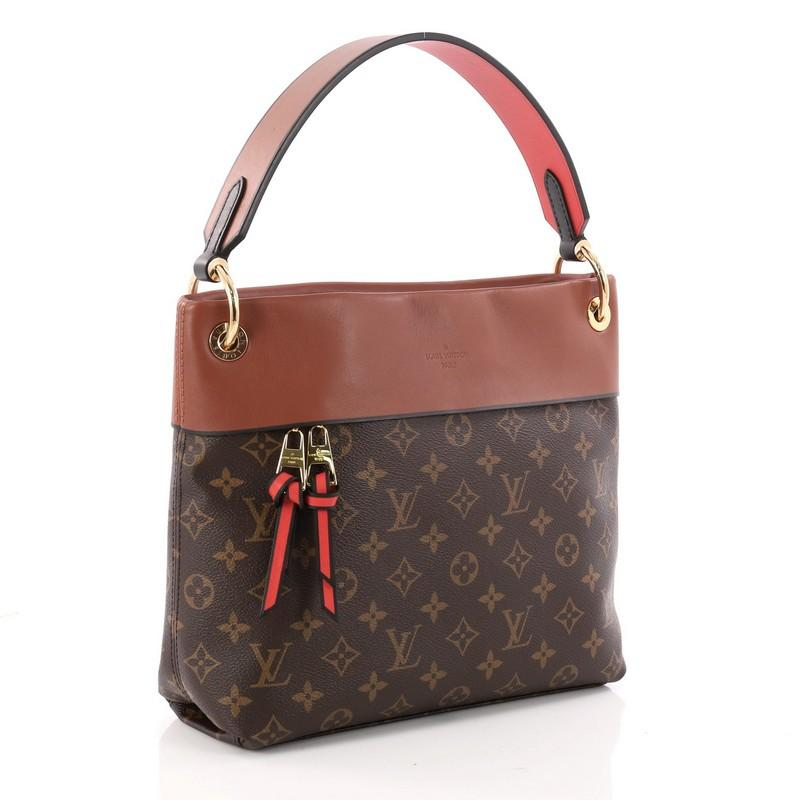 7cde204052e5 Louis Vuitton Tuileries Besace Bag Monogram Canvas with Leather at 1stdibs