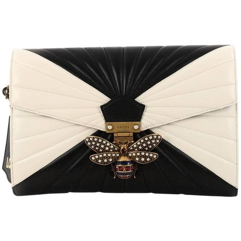 1c2fc6a5a944 Gucci Queen Margaret Clutch Colorblock Leather at 1stdibs