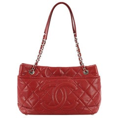 Chanel Timeless CC Soft Tote Quilted Caviar Medium