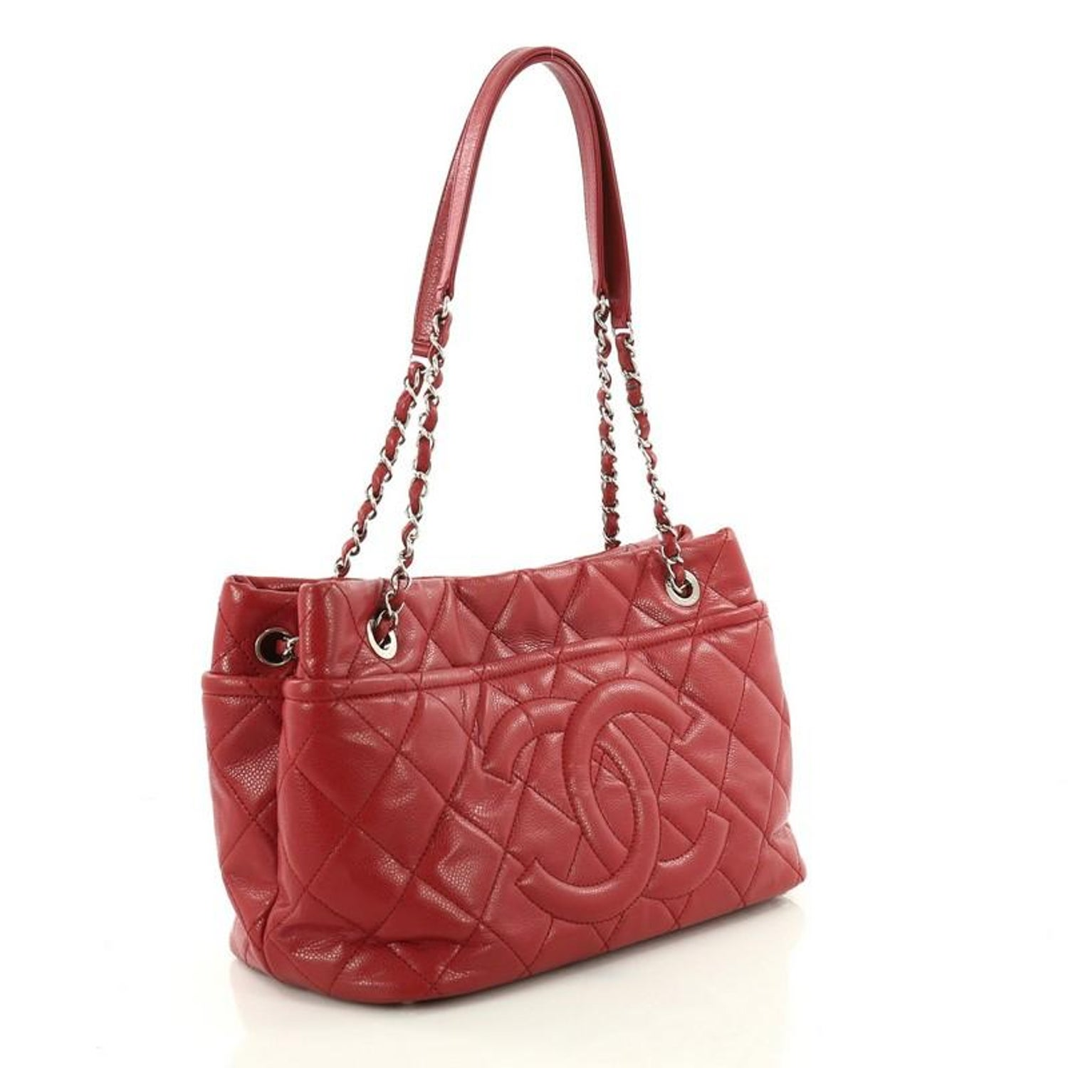 a4feb4532f166e Chanel Timeless CC Soft Tote Quilted Caviar Medium at 1stdibs