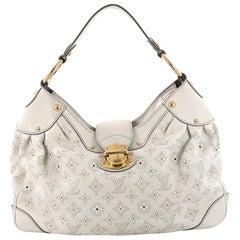 Louis Vuitton Solar Handbag Mahina Leather PM