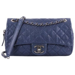 Chanel Easy Flap Bag Quilted Caviar Medium