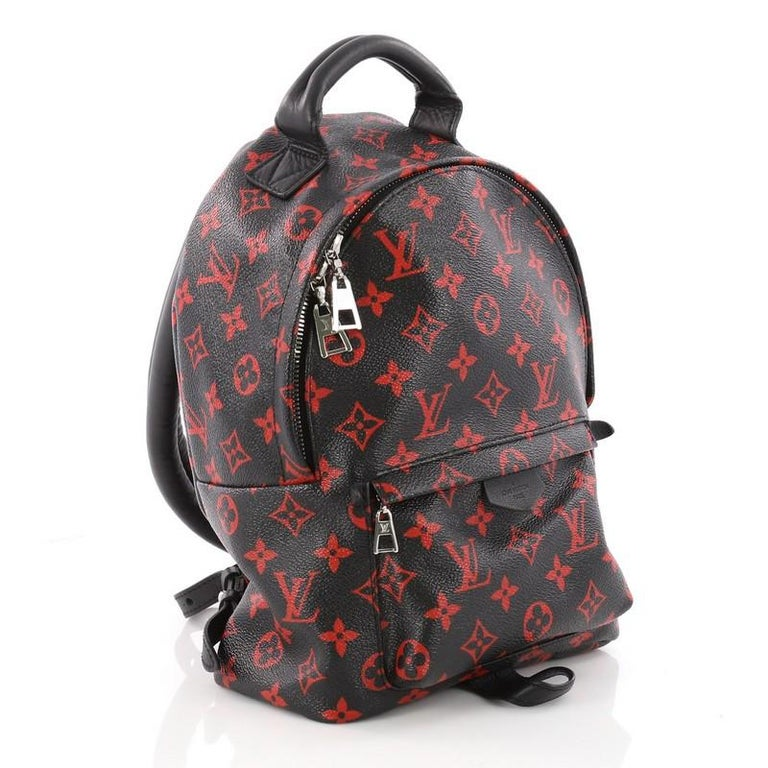 ae43845734964 Louis Vuitton Palm Springs Backpack Limited Edition Monogram Infrarouge PM  In Good Condition In New York