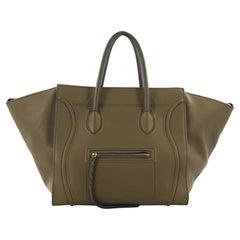 Celine Phantom Handbag Smooth Leather Large