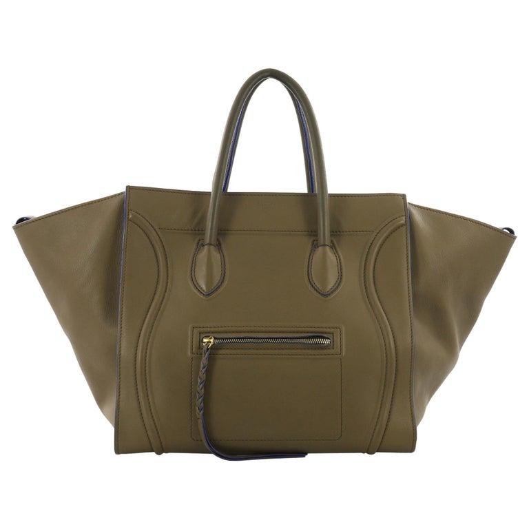 Celine Phantom Handbag Smooth Leather Large For
