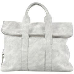 3.1 Phillip Lim 31 Hour Fold-Over Tote Leather