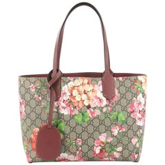 Gucci Reversible Gucci Reversible Tote Blooms GG Print Leather Small