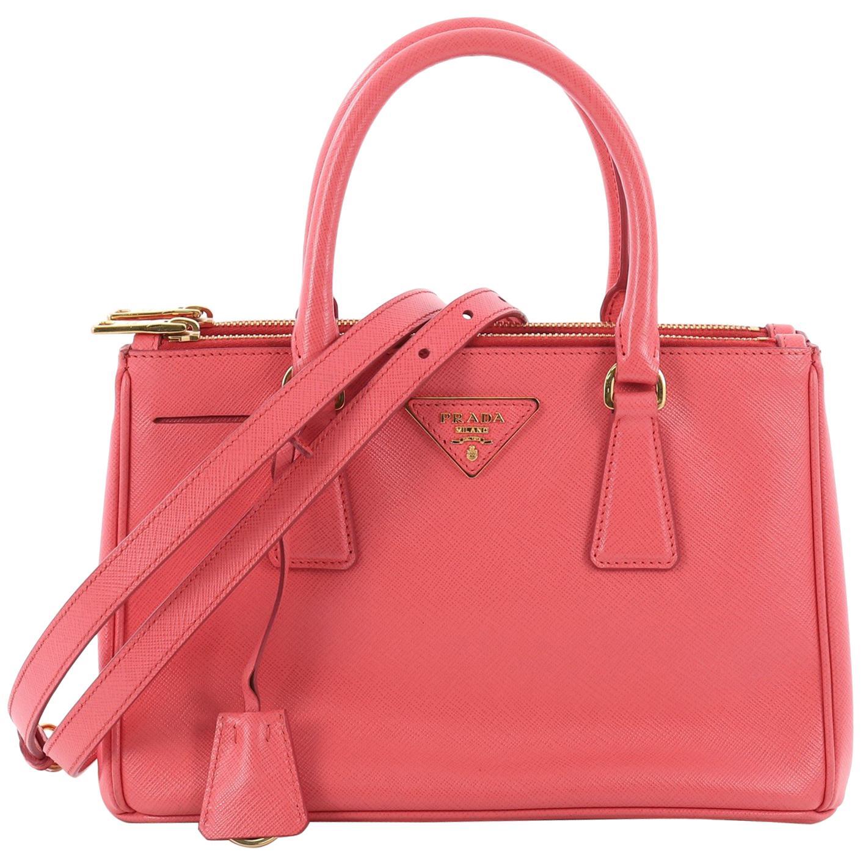 a52623f1ab765a ... france prada double zip lux tote saffiano leather mini 11d56 b0225 ...