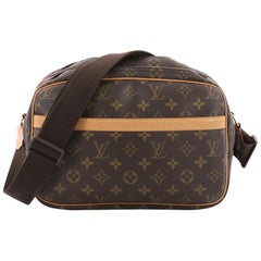 Louis Vuitton Reporter Bag Monogram Canvas PM