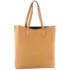 Burberry Remington Tote Embossed Leather Tall