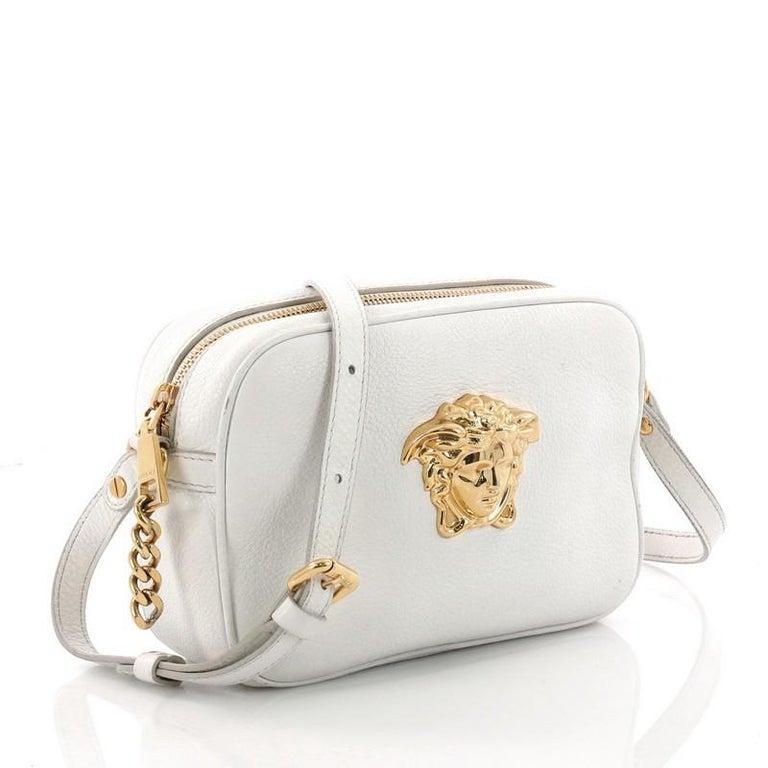 34e7adeb3c0 ... Beige Versace Palazzo Medusa Camera Bag Leather Small For Sale cheap  for discount 9e98d 300c4 ...