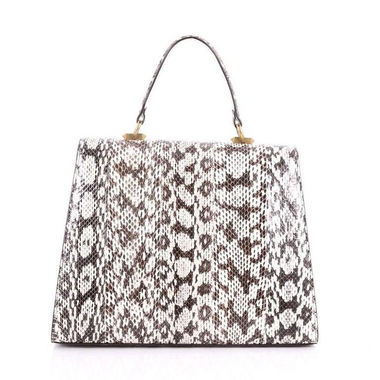 011892ec39 Women's Gucci Osiride Top Handle Bag Embellished Snakeskin Medium For Sale