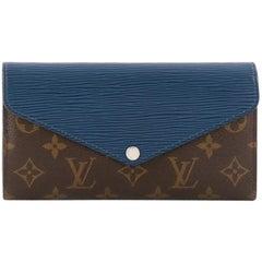 Louis Vuitton Marie-Lou Wallet Monogram Canvas and Epi Leather Long