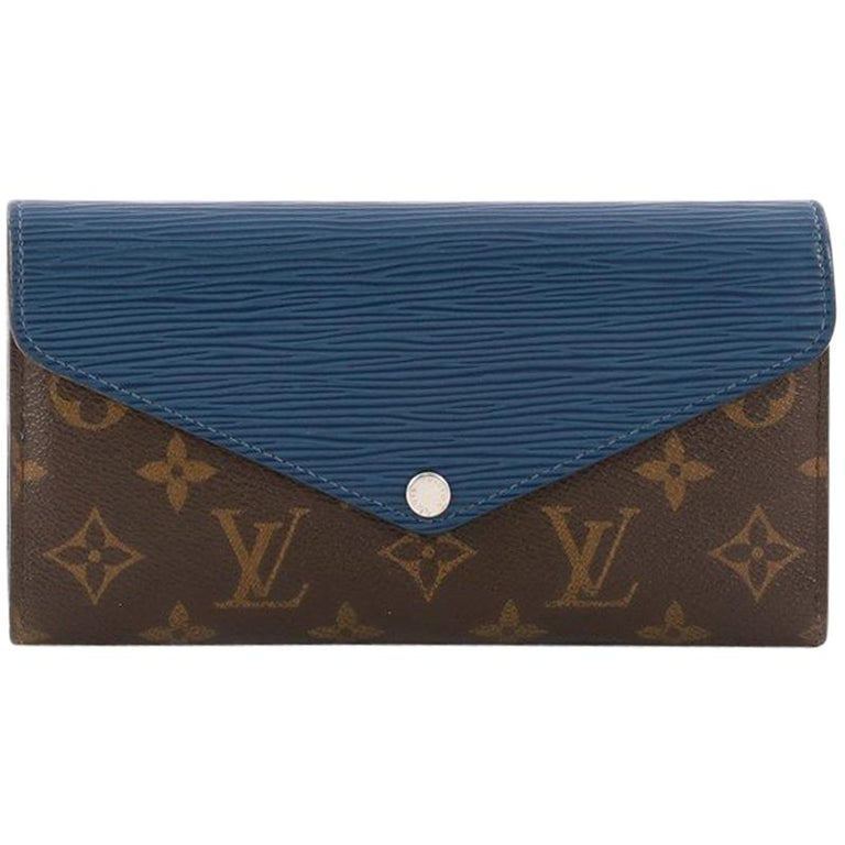 Louis Vuitton Marie-Lou Wallet Monogram Canvas and Epi Leather Long For Sale 25ed9367b7