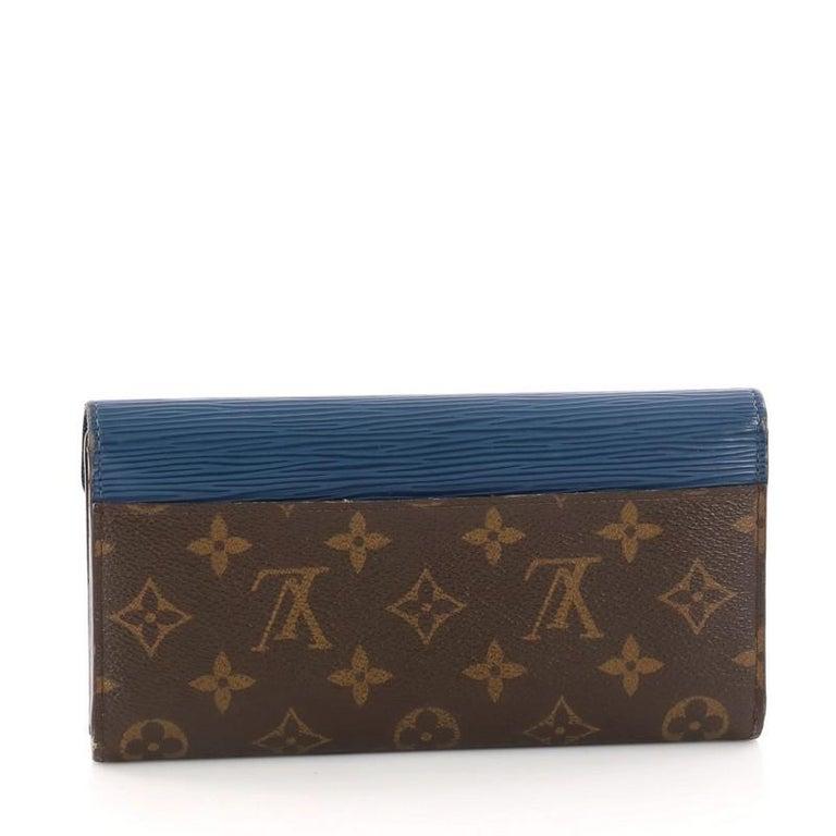 bccabf306fb22 Louis Vuitton Marie-Lou Geldbörse Monogram Canvas und Epi Leder Lang ...