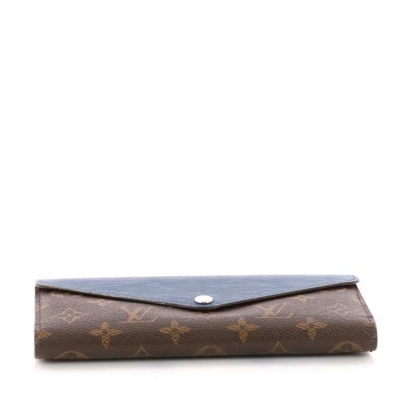 7815e2461f4af Louis Vuitton Marie-Lou Geldbörse Monogram Canvas und Epi Leder Lang bei  1stdibs