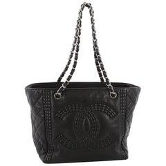 Chanel Coco Bengal Shopping Tote Calfskin Medium