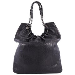 Tom Ford Chain Handle Bag Python Large