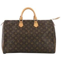 Louis Vuitton Speedy Handbag Monogram Canvas 40