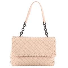 Bottega Veneta Olimpia Shoulder Bag Intrecciato Nappa Small