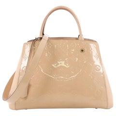 Louis Vuitton Montaigne Handbag Monogram Vernis MM