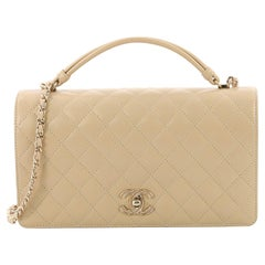 Chanel Tied Flap Bag Quilted Lambskin Medium