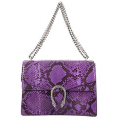 Gucci Dionysus Handbag Python Medium