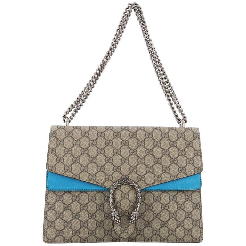 dd89d6aa3fda86 Gucci Dionysus Handbag GG Coated Canvas Medium at 1stdibs