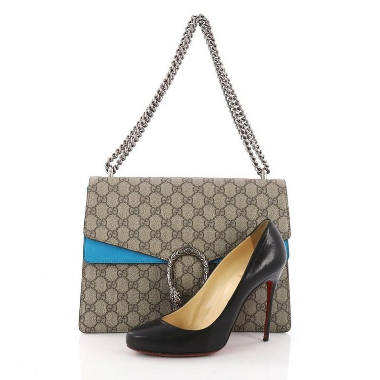 d19cdbfc3f3 Gucci Dionysus Handbag GG Coated Canvas Medium at 1stdibs