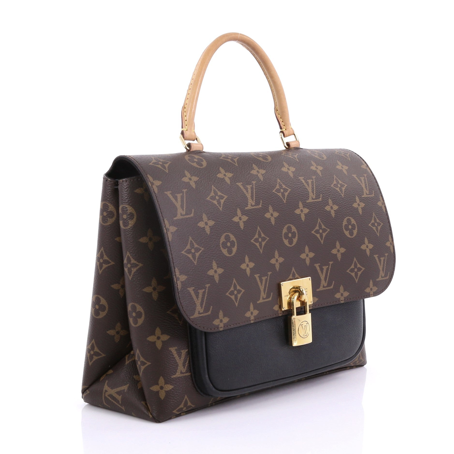 f846aaa7e2784 Louis Vuitton Marignan Handbag Monogram Canvas with Leather bei 1stdibs