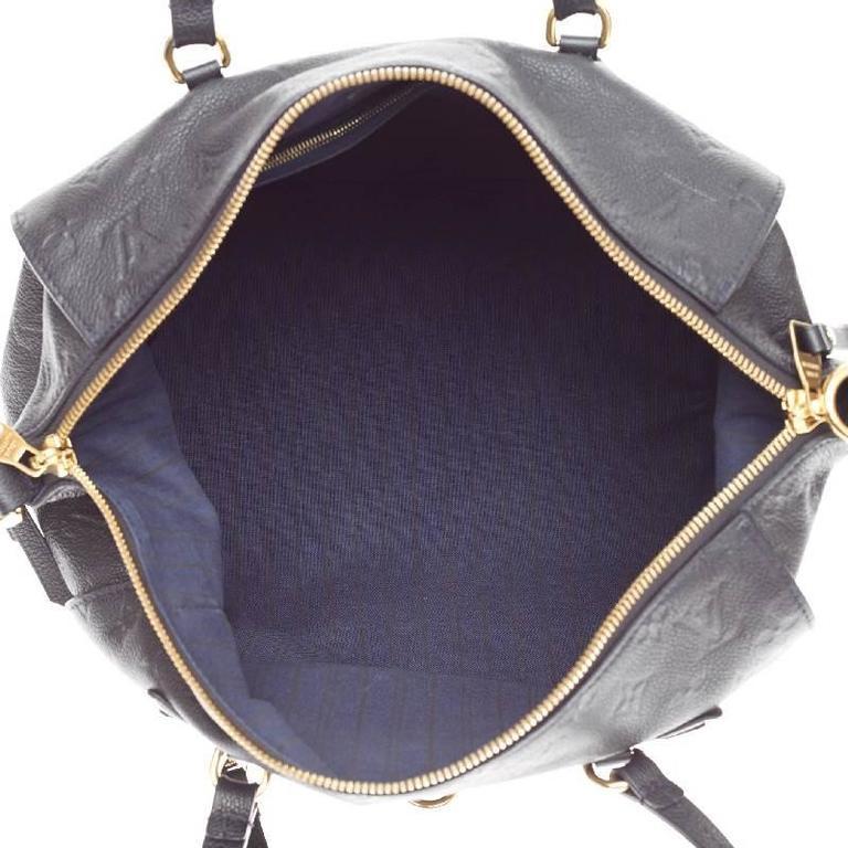 d1747e017a26 Louis Vuitton Lumineuse Monogram Empreinte Leather PM at 1stdibs