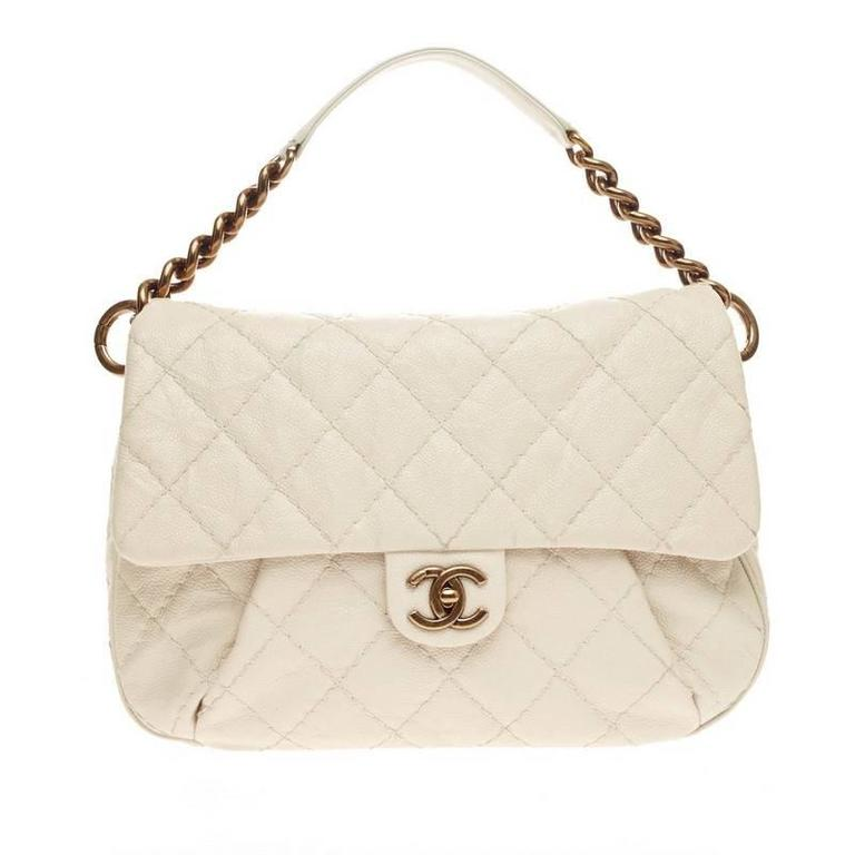 aa1f3c265 Chanel Coco Pleats Messenger Quilted Calfskin at 1stdibs