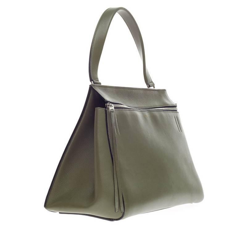 celine mini luggage bag price - celine edge bag leather medium