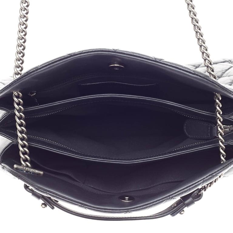 Chanel Stitched Mademoiselle Bowling Bag Aged Calfskin