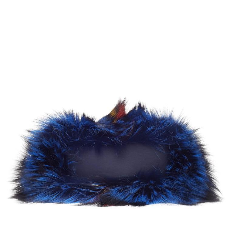 Fendi Limited Edition Peekaboo Fox Fur Mini 5
