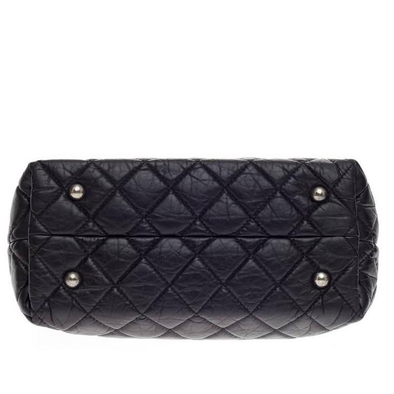 e04c42666d9a0b Chanel Reissue 2.55 Shopping Tote Aged Quilted Calfskin For Sale 2