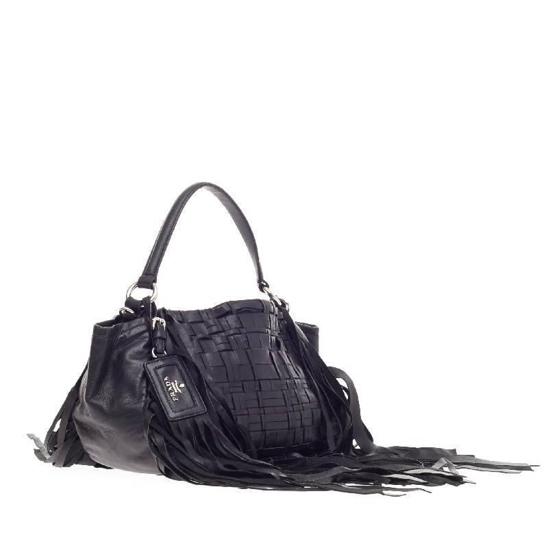 prada handbag copies - prada woven nappa fringe bag, prada purses price