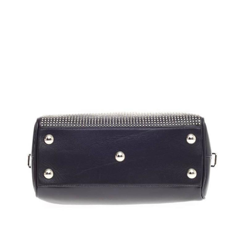 Saint Laurent Classic Baby Duffle Studded Leather at 1stdibs