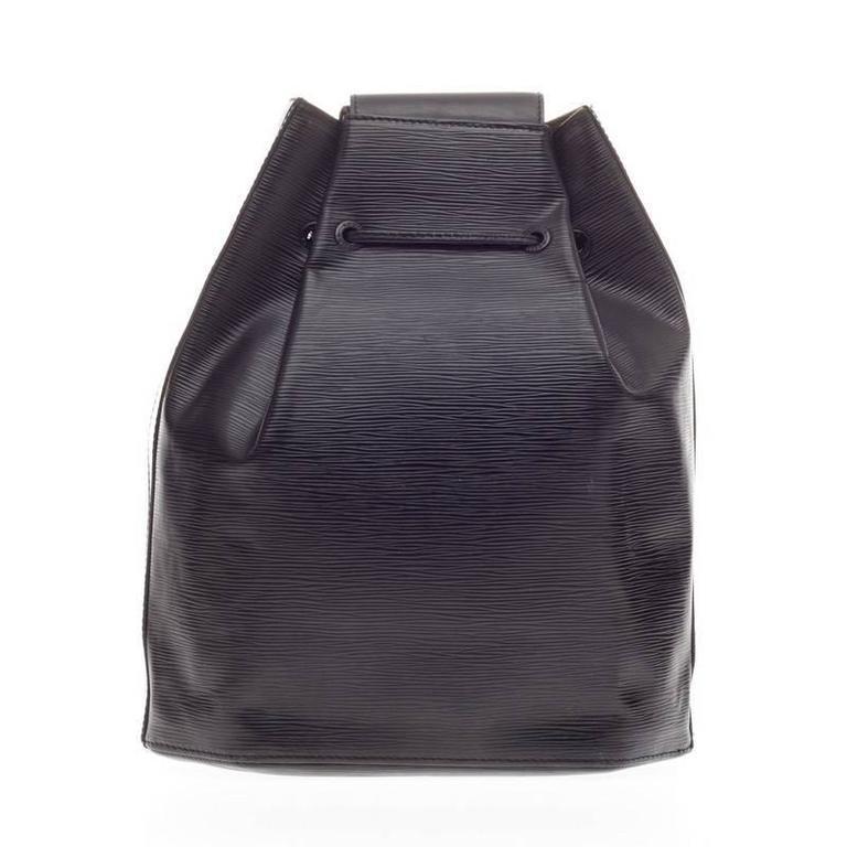 Sac A Dos Louis Vuitton Michael : Louis vuitton sac a dos drawstring backpack epi leather at
