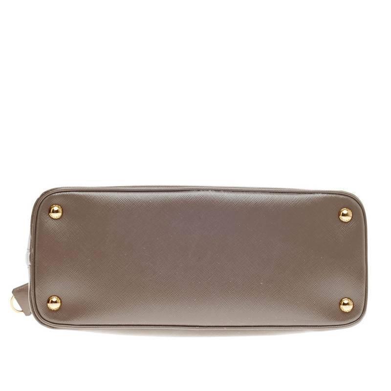 black prada handbags - Prada Promenade Vernice Saffiano Leather Medium For Sale at 1stdibs