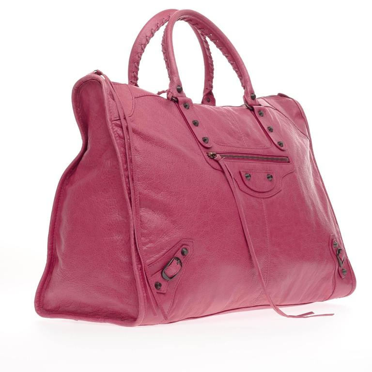 Balenciaga Weekender Classic Studs Leather  3
